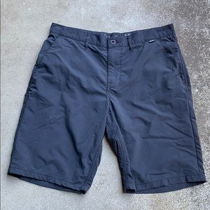 Hurley Classic Gray Flat Front Shorts